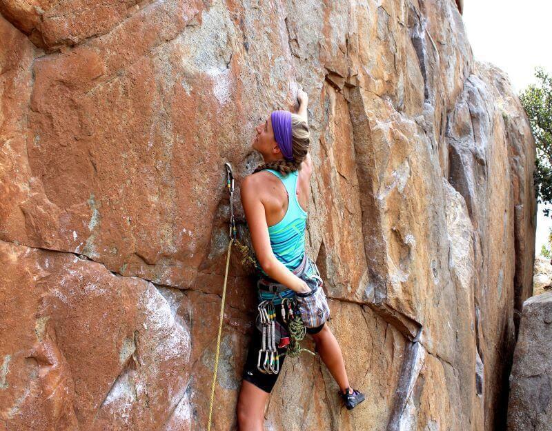 Guided Rock Climbing Trips in Colorado